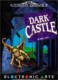 Box cover for Dark Castle on the Sega Genesis.
