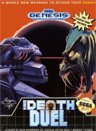Box cover for Death Duel on the Sega Genesis.