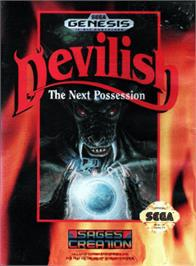 Box cover for Devilish on the Sega Genesis.