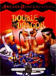 Box cover for Double Dragon on the Sega Genesis.