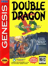 Box cover for Double Dragon V: The Shadow Falls on the Sega Genesis.