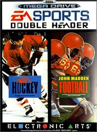Box cover for EA Sports Double Header on the Sega Genesis.