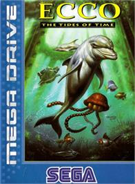Box cover for Ecco 2: The Tides of Time on the Sega Genesis.
