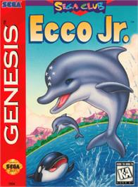 Box cover for Ecco Jr. on the Sega Genesis.