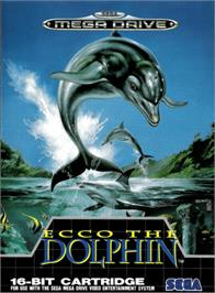 Box cover for Ecco the Dolphin on the Sega Genesis.