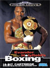 Box cover for Evander Holyfield's