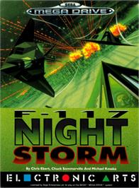 Box cover for F-117 Night Storm on the Sega Genesis.