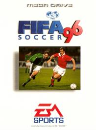 Box cover for FIFA 96 on the Sega Genesis.