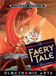 Box cover for Faery Tale Adventure, The on the Sega Genesis.