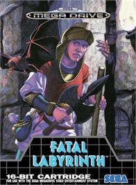 Box cover for Fatal Labyrinth on the Sega Genesis.