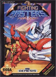 Box cover for Fighting Masters on the Sega Genesis.