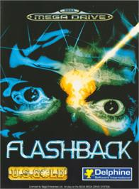 Box cover for Flashback on the Sega Genesis.