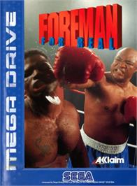 Box cover for Foreman for Real on the Sega Genesis.
