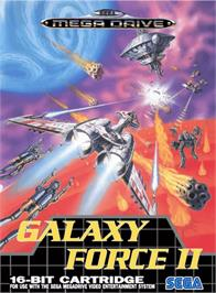 Box cover for Galaxy Force 2 on the Sega Genesis.