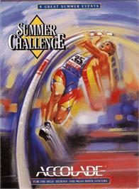 Box cover for Games: Summer Challenge, The on the Sega Genesis.