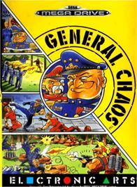 Box cover for General Chaos on the Sega Genesis.