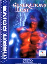 Box cover for Generations Lost on the Sega Genesis.