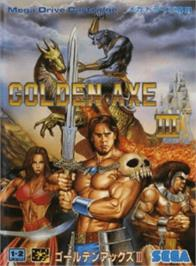 Box cover for Golden Axe III on the Sega Genesis.