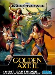 Box cover for Golden Axe II on the Sega Genesis.