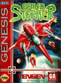 Box cover for Grind Stormer on the Sega Genesis.