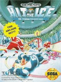 Box cover for Hit The Ice on the Sega Genesis.