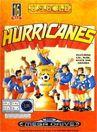 Box cover for Hurricanes, The on the Sega Genesis.