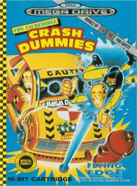 Box cover for Incredible Crash Dummies, The on the Sega Genesis.