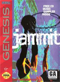 Box cover for Jammit on the Sega Genesis.