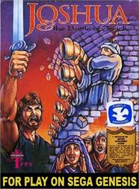 Box cover for Joshua & the Battle of Jericho on the Sega Genesis.