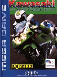 Box cover for Kawasaki Superbike Challenge on the Sega Genesis.