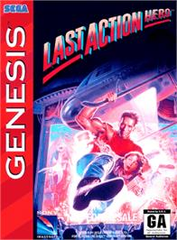 Box cover for Last Action Hero on the Sega Genesis.