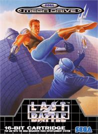 Box cover for Last Battle on the Sega Genesis.