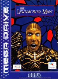 Box cover for Lawnmower Man, The on the Sega Genesis.