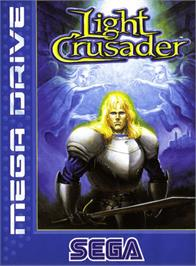 Box cover for Light Crusader on the Sega Genesis.