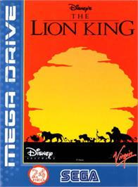 Box cover for Lion King, The on the Sega Genesis.