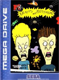 Box cover for MTV's Beavis and Butthead on the Sega Genesis.