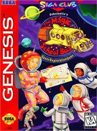 Box cover for Magic School Bus, The on the Sega Genesis.