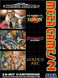 Box cover for Mega Games 2 on the Sega Genesis.
