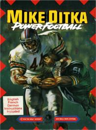 Box cover for Mike Ditka Power Football on the Sega Genesis.