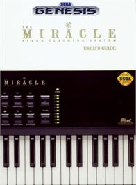 Box cover for Miracle Piano Teaching System on the Sega Genesis.