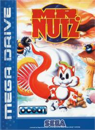 Box cover for Mr Nutz on the Sega Genesis.