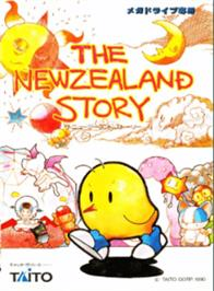Box cover for New Zealand Story, The on the Sega Genesis.