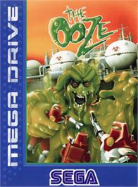 Box cover for Ooze, The on the Sega Genesis.