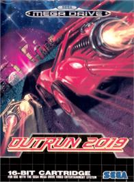Box cover for Out Run 2019 on the Sega Genesis.