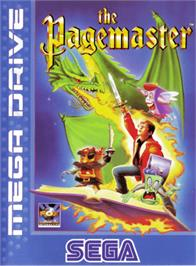 Box cover for Pagemaster, The on the Sega Genesis.