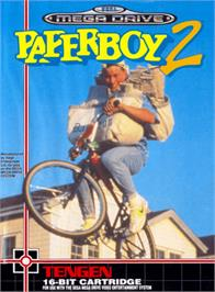 Box cover for Paperboy 2 on the Sega Genesis.