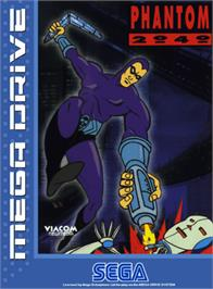 Box cover for Phantom 2040 on the Sega Genesis.