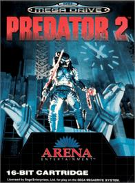 Box cover for Predator 2 on the Sega Genesis.