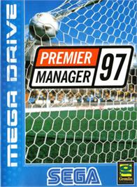 Box cover for Premier Manager 97 on the Sega Genesis.