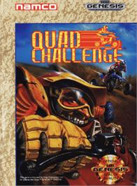 Box cover for Quad Challenge on the Sega Genesis.